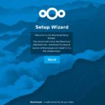 Nextcloud Installation per Wizard