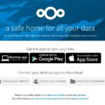 Nextcloud 10 Installation Finish