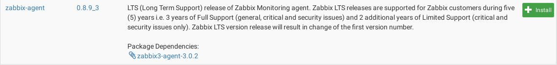 install zabbix agent