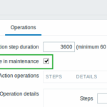 Zabbix 3.2.0 Delay Maintenance