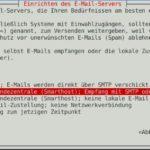 Debian Exim4 Smarthost Step1