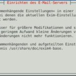 Debian Exim4 Smarthost Step10