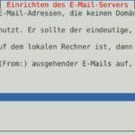 Debian Exim4 Smarthost Step2