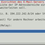 Debian Exim4 Smarthost Step5